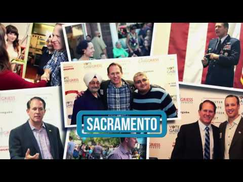 Gabe Griess For California Senate - Vote June 7 2016 - Sacramento Ca - Education Spot 2