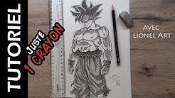 Incroyable Comment Créer Un Dessin Avec Les Lettres De Goku
