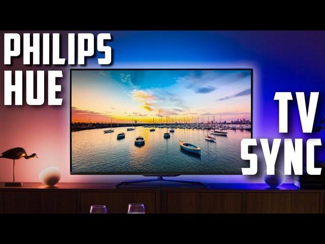 philips hue play hdmi sync box setup