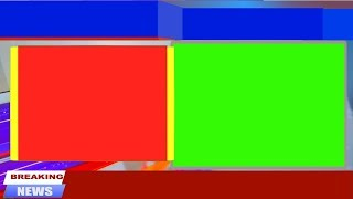 Free Breaking News Green Screen Animation Background 2019
