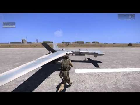 Arma 3 - How to get and use UAVs