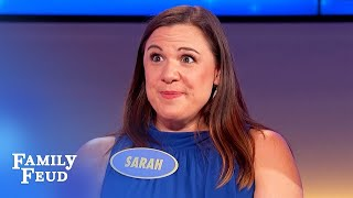 Men, does your wife PRETEND to like this about you?   Family Feud