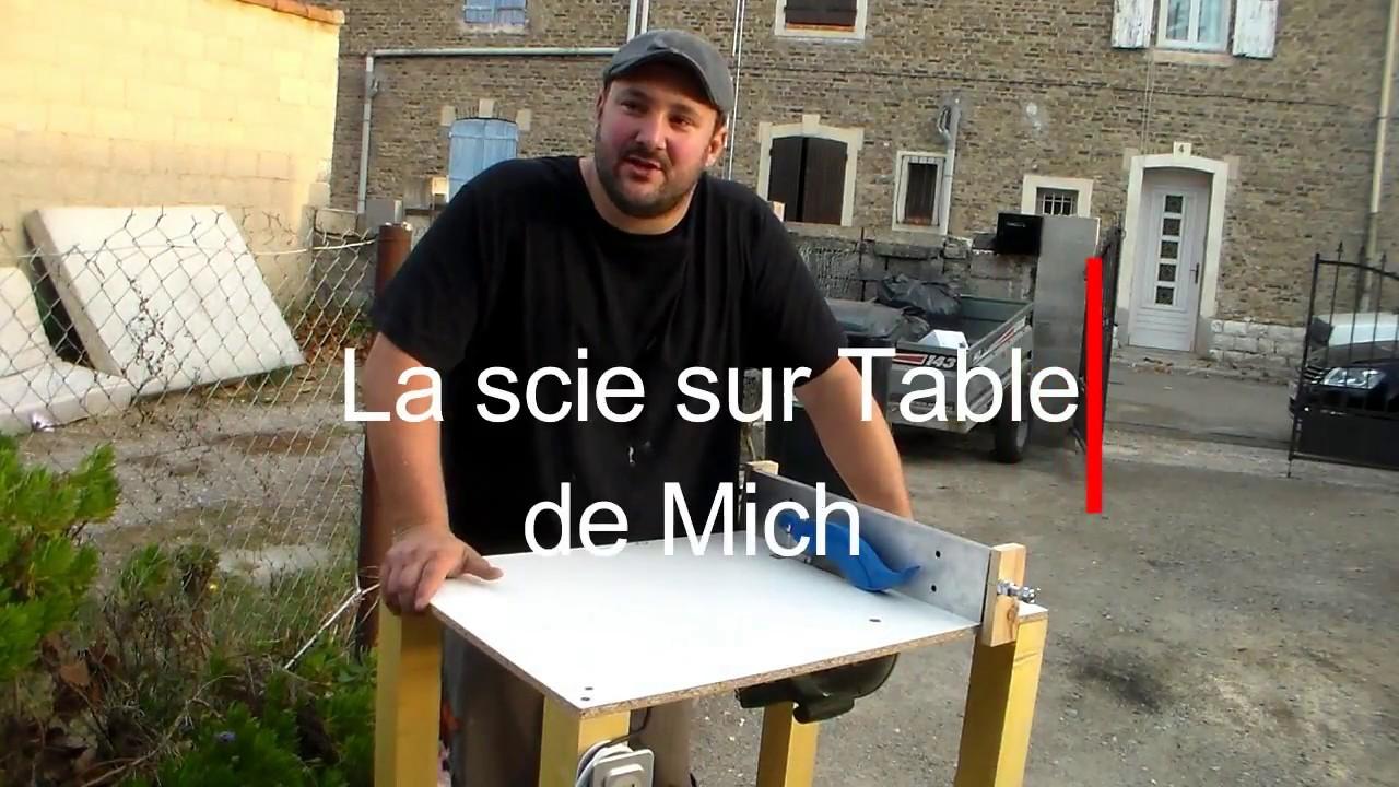 13 diy scie sur table fait maison table saw homemade youtube - Scie sur table fabrication maison ...