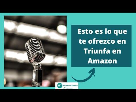 Quién soy y Esto es lo que te ofrezco en Triunfa en Amazon