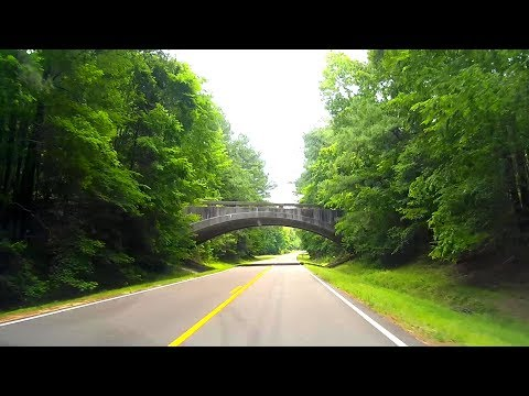 Road Trip #191 - Natchez Trace Parkway - Mile 29 to Mile 48 - Sunken Trace