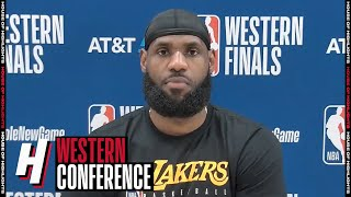 LeBron James Postgame Interview - Game 3 | Lakers vs Nuggets | September 22, 2020 NBA Playoffs