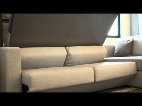 lit et canape escamotable nantes youtube. Black Bedroom Furniture Sets. Home Design Ideas