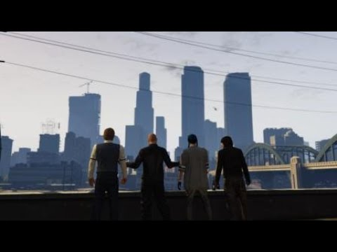 GTA Online - The Pacific Standard Job - Elite Challenge R* Time (8:29) [PS4]