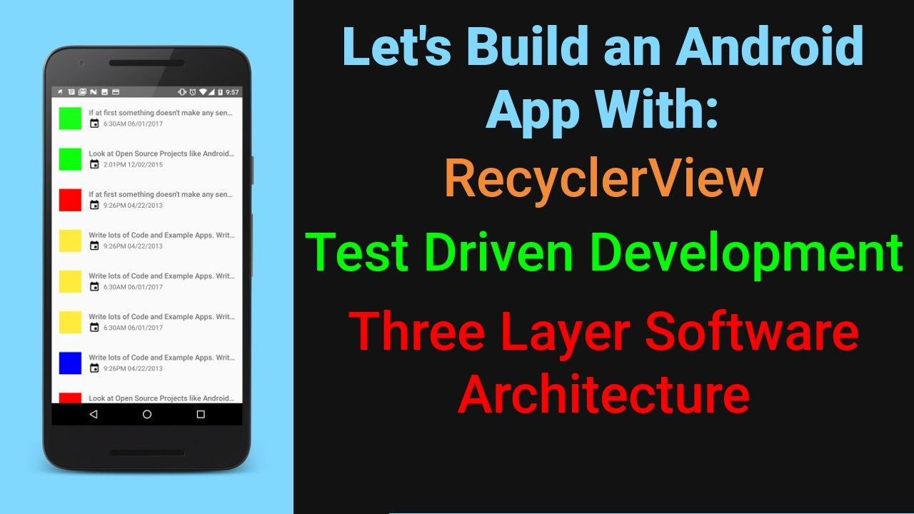 Let's Build a RecyclerView App Part 2 | Beginner Android Development  Tutorial