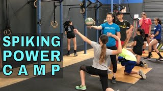 Spiking Power Camp - Volleyball Training (Elevate Yourself)