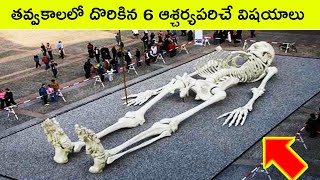 Top 6 Amazing things found in excavations | Bmc facts | Telugu