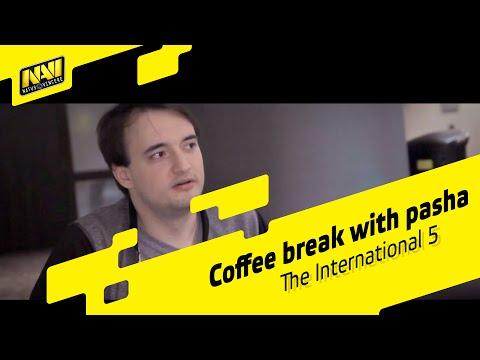 Coffee break with pasha (Vega Squadron) @ The International 5 (ENG SUBS)