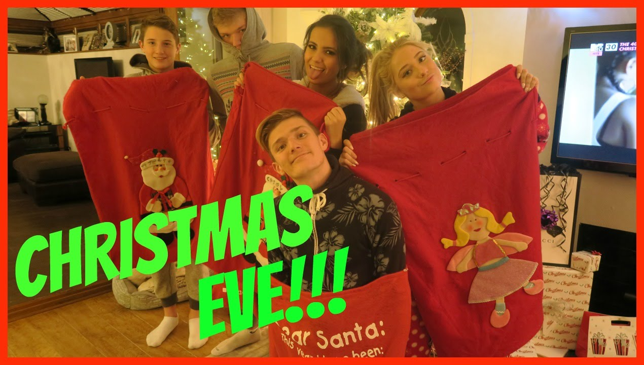 ITS CHRISTMAS EVE!!! - YouTube
