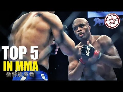 TOP 5 Traditional Martial Artist in MMA