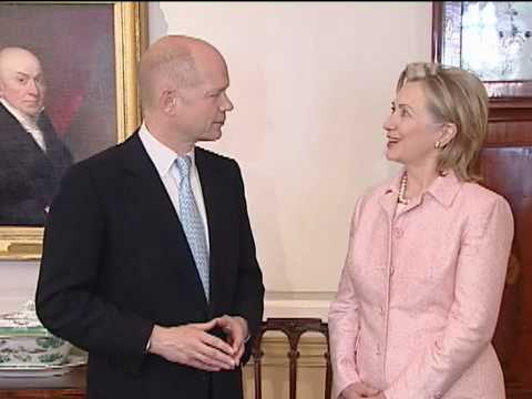 Secretary Clinton Meets British Foreign Secretary