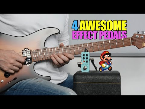 4 Awesome Effect Pedals For Electric Guitar - By Kfir Ochaion - Mooer Audio