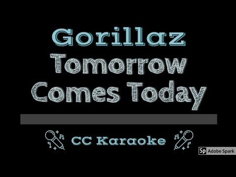 Gorillaz   Tomorrow Comes Today CC Karaoke Instrumental