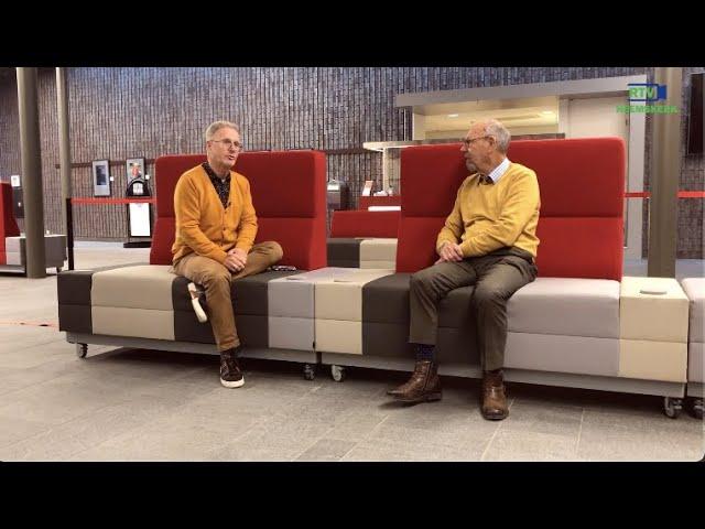 In gesprek met Aad van Tunen en Gaatze de Vries over woningbouw aan de kop van De Baandert