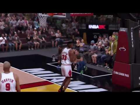 NBA 2K17 TRICK SHOTS (PART 1)