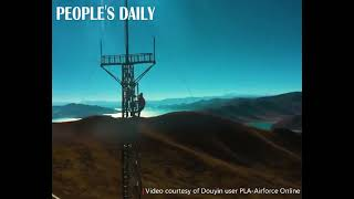 A #5G signal base station started operation at PLA's Ganbala radar station in SW China's Tibet.