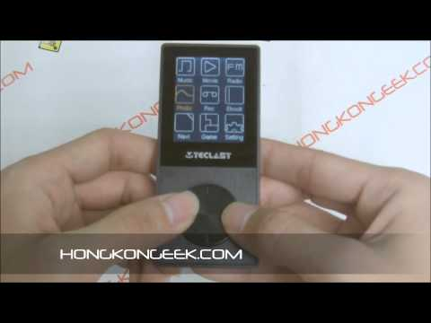 - UNBOXING AND TEST - MP3 PLAYER 4GB TECLAST X30SE