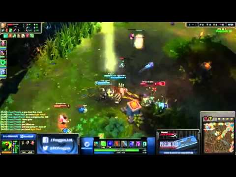 Froggen plays Nasus vs Lee Sin top lane
