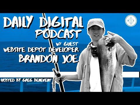 Interview with Website Depot Developer Brandon Joe   Daily Digital #27