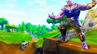 PLAY AS THANOS IN FORTNITE - New Avengers Infinity War Mode