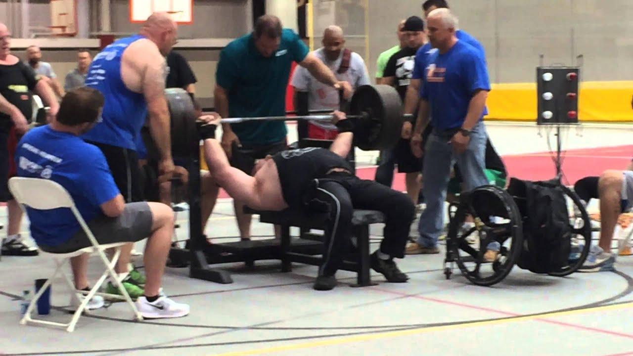 Delightful Bench Games Part - 14: Mark Hauschildt Iowa Games 560 Raw Bench Press