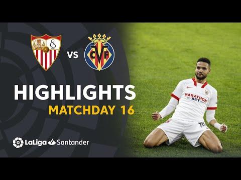 Sevilla Villarreal Goals And Highlights