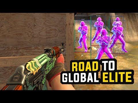 CS:GO   LEGIT HACKING TO GLOBAL ELITE IN NON PRIME... #EPISODE1