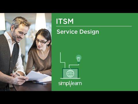 ITSM | Service Design | IT Service Management Concepts