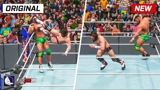 WWE 2K19 Top 10 New Moves Variations (Animations) #3