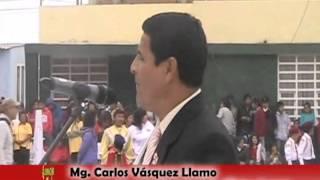 Desfile por Fiestas Patrias en Víctor Larco  Herrera