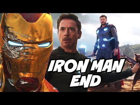 Play Iron man End in Avengers Infinity War and MCU Lead in Avengers 4 Hindi