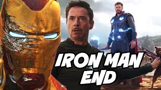 Iron man End in Avengers Infinity War and MCU Lead in Avengers 4 Hindi