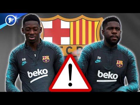Samuel Umtiti et Ousmane Dembélé dans la tourmente au FC Barcelone | Revue de presse