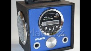 Портативная колонка atlanfa AT-8994 обзор
