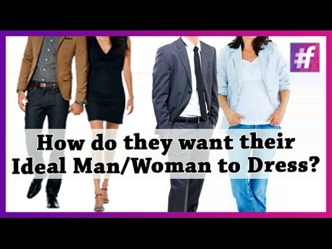 How Do They Want Their Ideal Man/ Woman to Dress? - 동영상