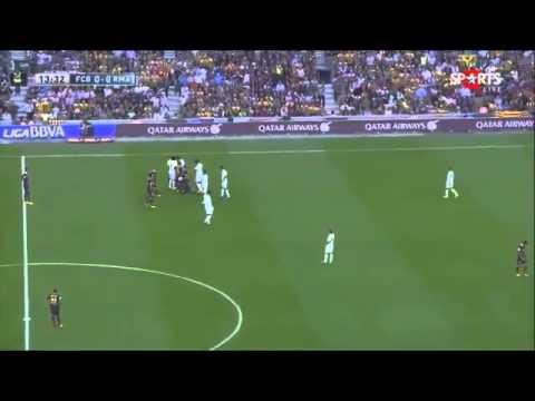 Neymar vs Sergio Ramos Barcelona vs Real madrid La Liga 26 10 2013 HD