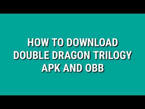 Double Dragon Trilogy Apk And Obb File