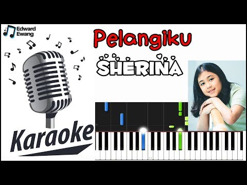 Pelangiku - Sherina Karaoke Plus Iringan Piano (Accompaniment)