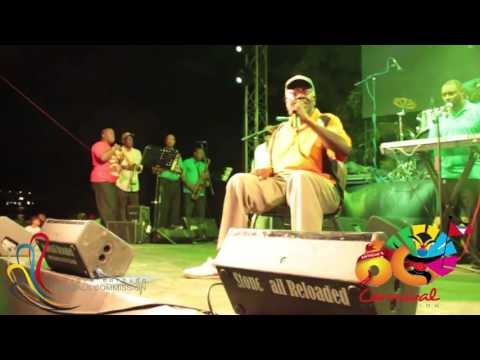 King Obstinate performs at the 2016 Carnival Launch