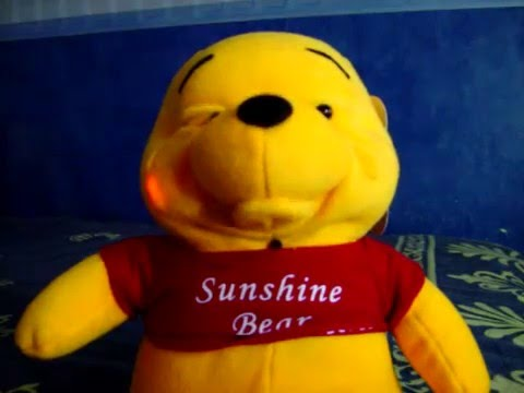 Wiinie The Pooh You Are My Sunshine Singing Bear Youtube