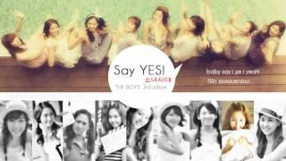 [Thai Lyrics/Trans] SNSD - Say YES!