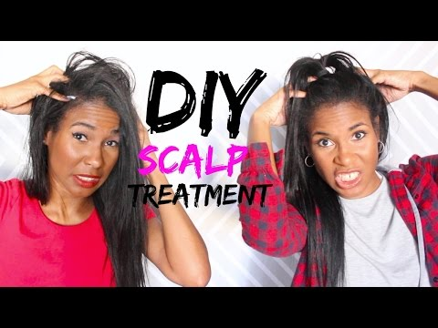 DIY ITCHY/DRY SCALP + HAIR GROWTH TREATMENT