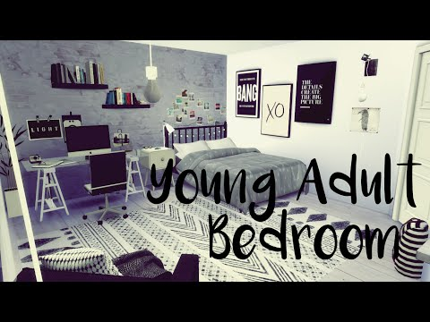 How To Create a Room: Young Adult Bedroom - The Sims 4