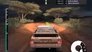 CMR Dirt 3 Audi Quattro Rally @ Kenya Crodile Point Night