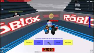 Realistic ROBLOX Boxing