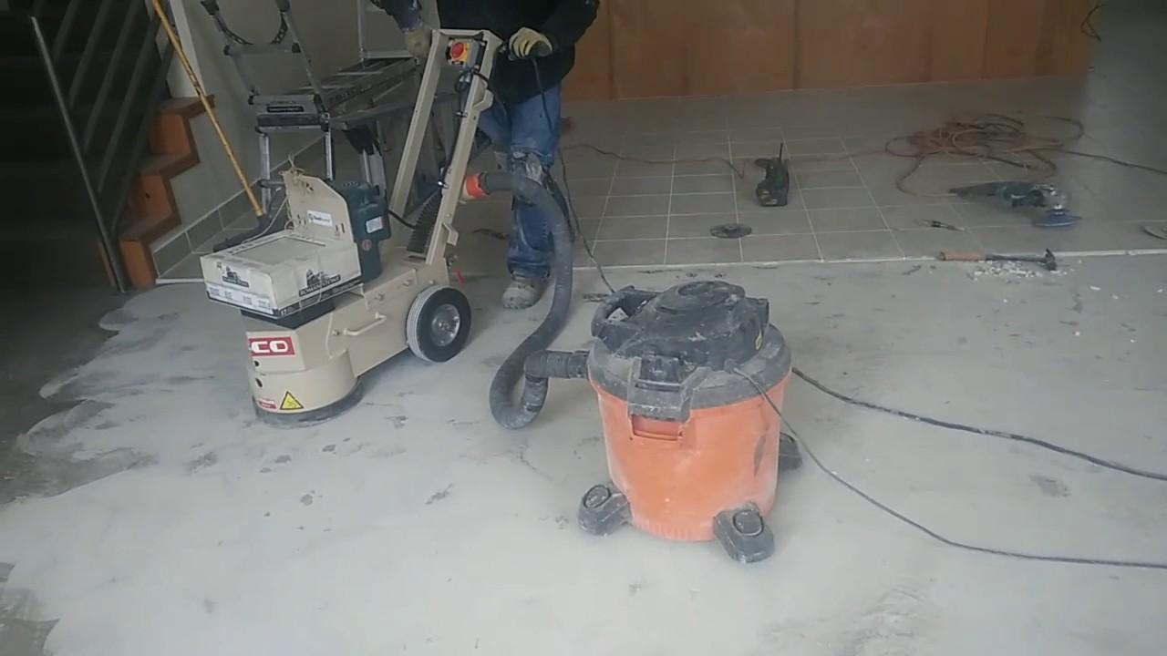 Como quitar el sellador del piso de concreto youtube - Como sacar aceite del piso ...